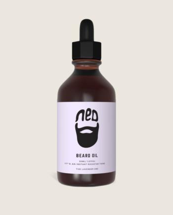 men's styling - the original beard oil from ned - lavender beard oil for men -