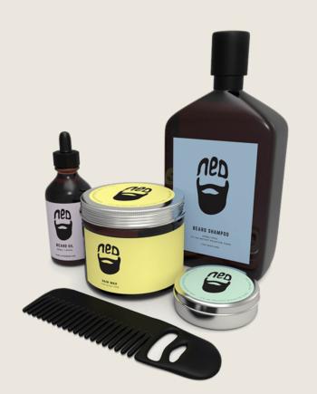 ned matte paste, ned beard comb, ned beard oil, NED beard shampoo, ned beard wax
