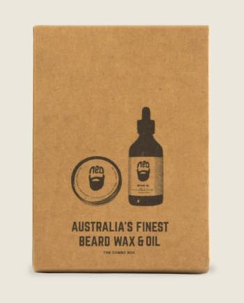 best beard wax australia -duo beard wax and oil pack - best beard oil australia - men's styling products