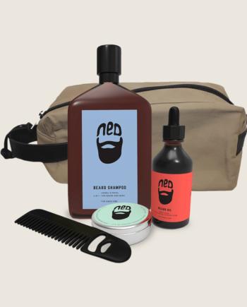 NED beard kit - NED beard care - NED men's grooming - NED hair care